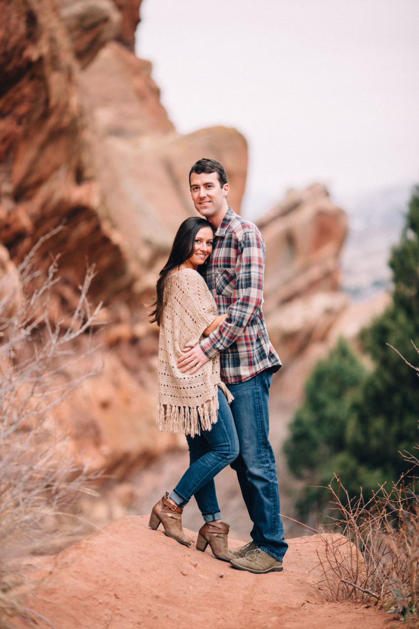 007 Nikki Chris Engagement Red Rocks