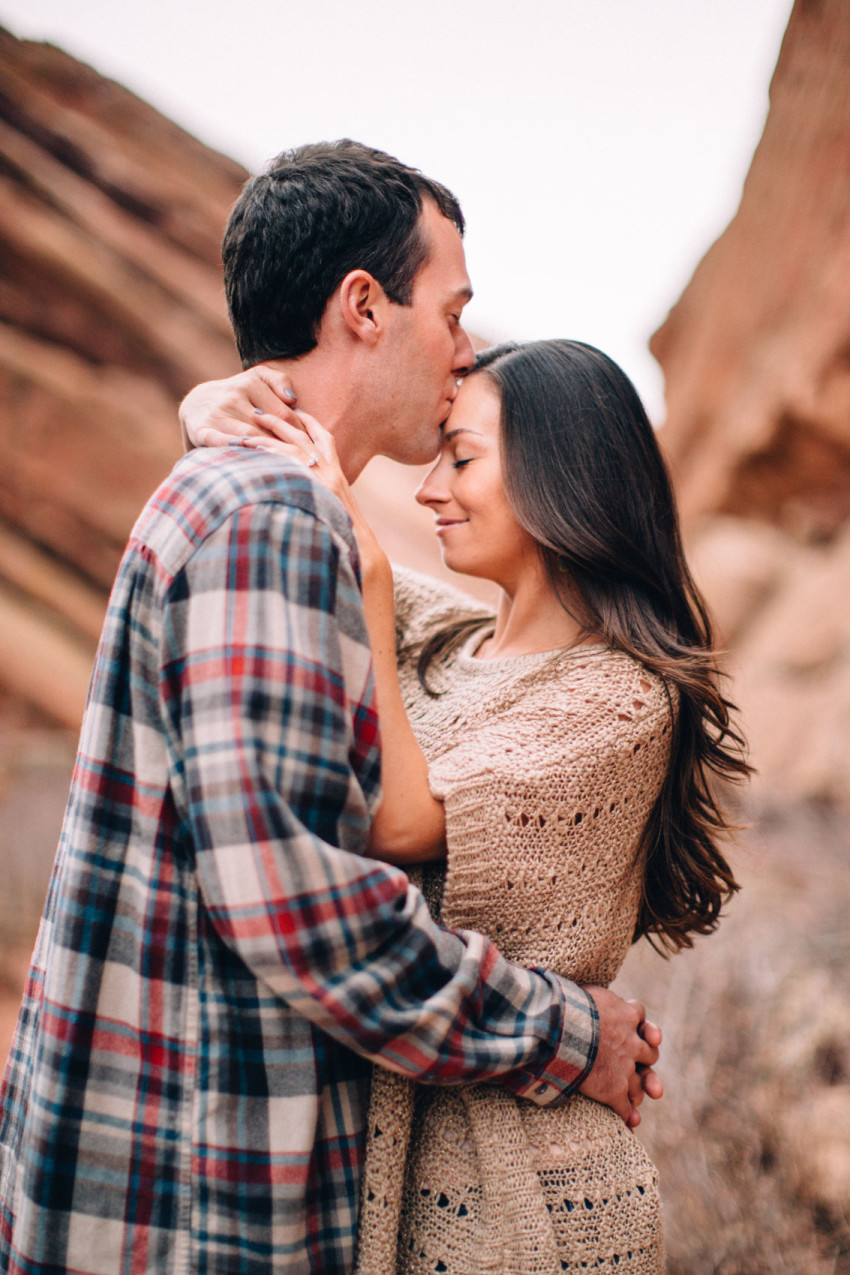 009 Nikki Chris Engagement Red Rocks