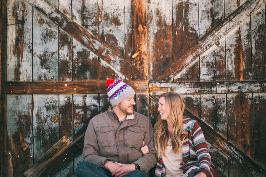 011 Julie Matt Crested Butte Engagement Winter Snow Outdoors Fun Local spots Paradise