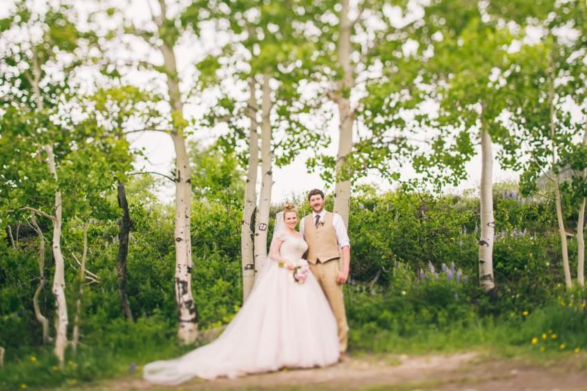 012_Crested Butte Wedding Photographer Secret Stash Woods Walk Ceremony Jamie Blue Bird Events Boho Epic Stars