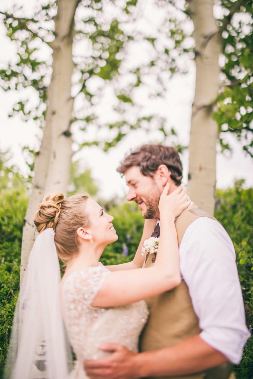 013_Crested Butte Wedding Photographer Secret Stash Woods Walk Ceremony Jamie Blue Bird Events Boho Epic Stars