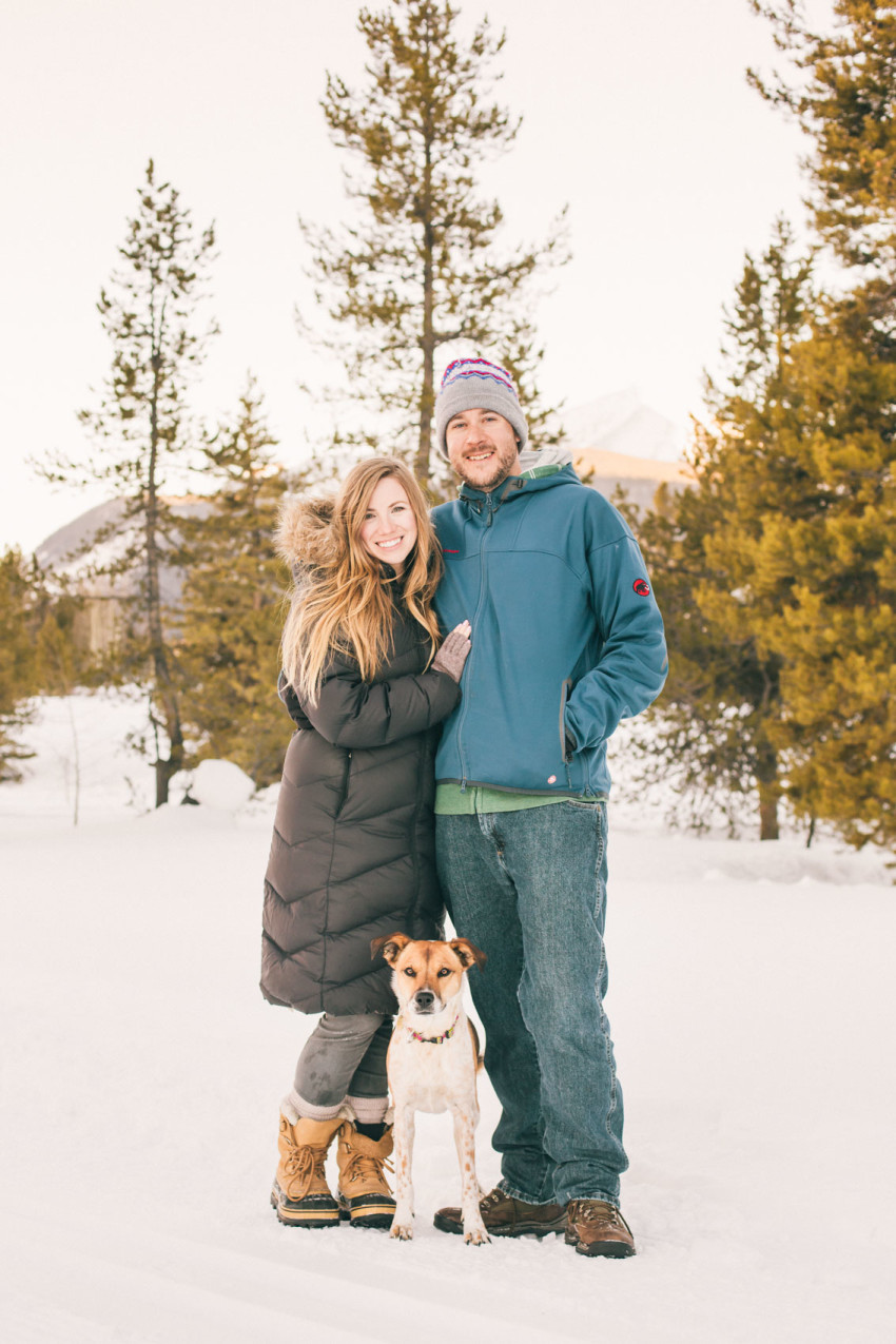 016 Julie Matt Crested Butte Engagement Winter Snow Outdoors Fun Local spots Paradise