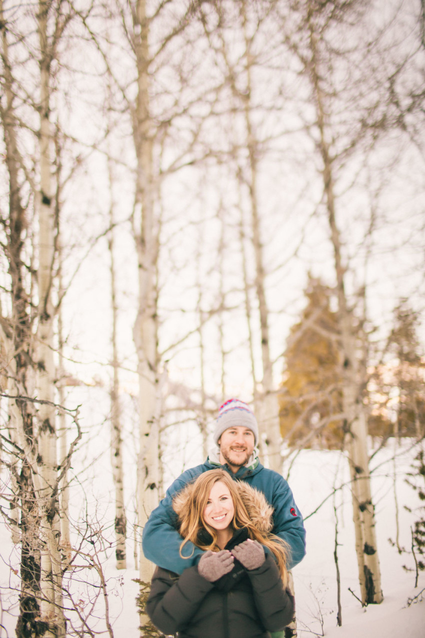 017 Julie Matt Crested Butte Engagement Winter Snow Outdoors Fun Local spots Paradise