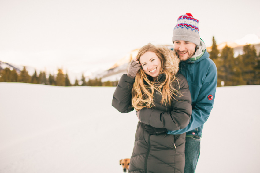 018 Julie Matt Crested Butte Engagement Winter Snow Outdoors Fun Local spots Paradise