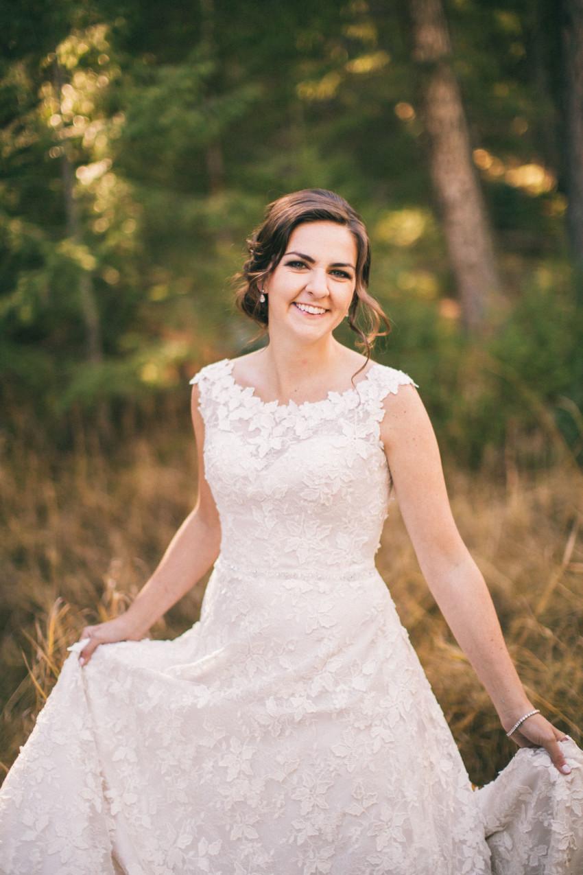 019 Evergreen Lake House Wedding Photographer Bride portrait
