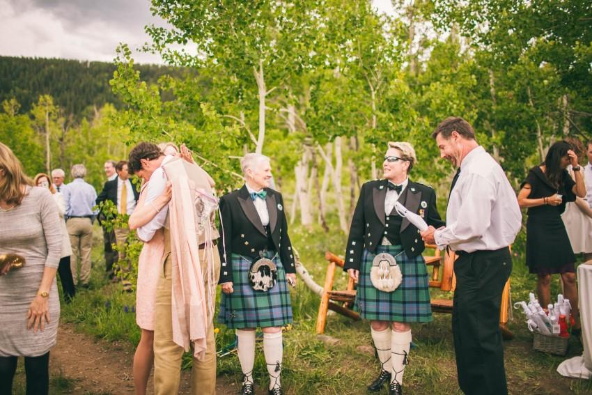 020_Crested Butte Wedding Photographer Secret Stash Woods Walk Ceremony Jamie Blue Bird Events Boho Epic Stars