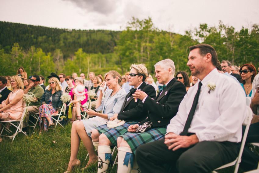 029_Crested Butte Wedding Photographer Secret Stash Woods Walk Ceremony Jamie Blue Bird Events Boho Epic Stars