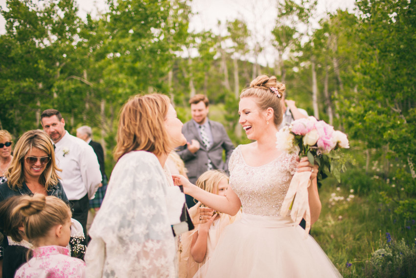 035_Crested Butte Wedding Photographer Secret Stash Woods Walk Ceremony Jamie Blue Bird Events Boho Epic Stars