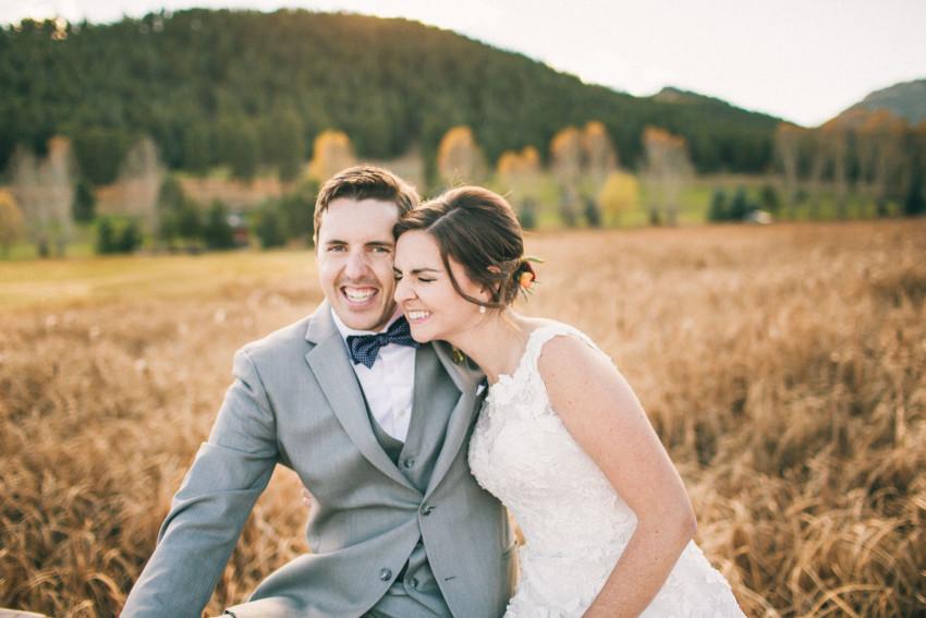 050 Evergreen Lake House Wedding Photographer happy bride and groom