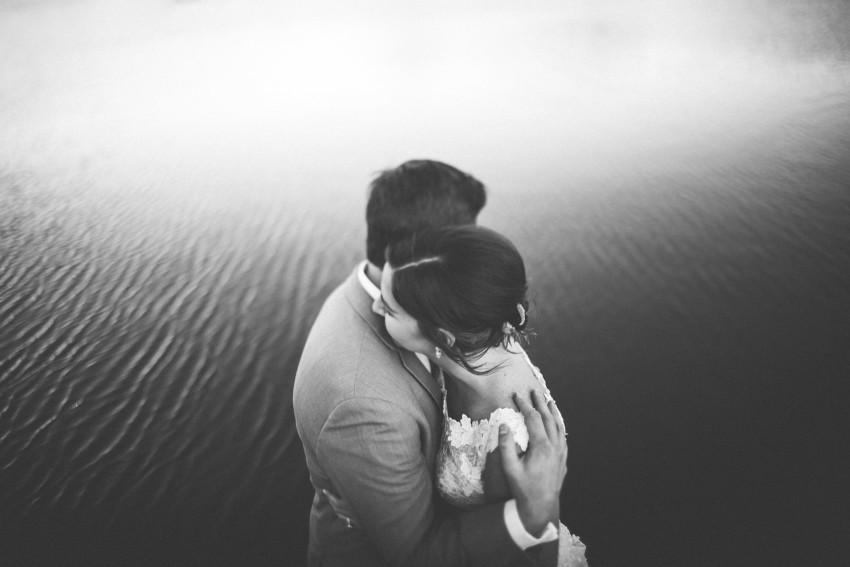 054 Evergreen Lake House Wedding Photographer intimate bride groom portrait
