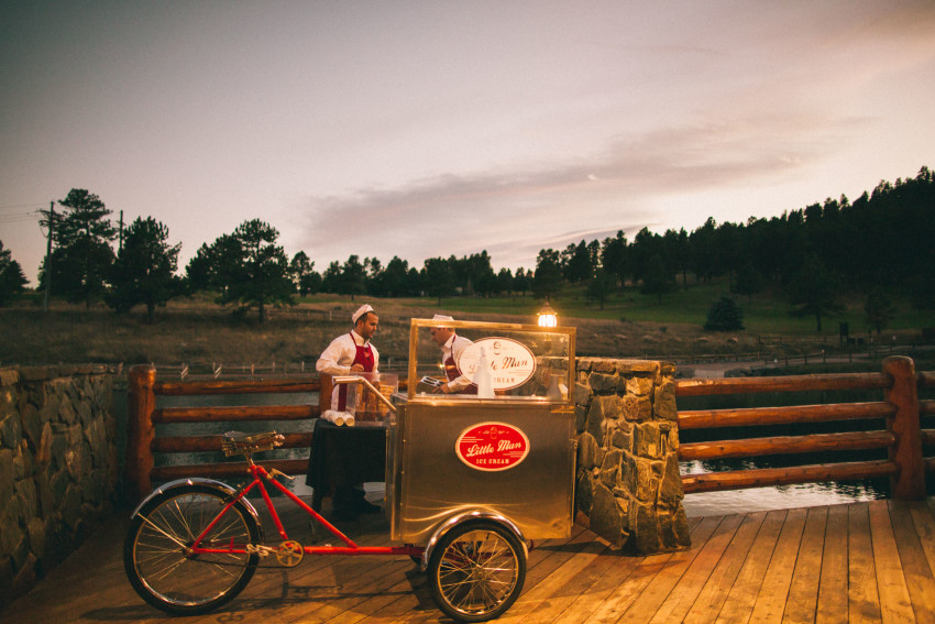 060 Evergreen Lake House Wedding Photographer little man ice cream