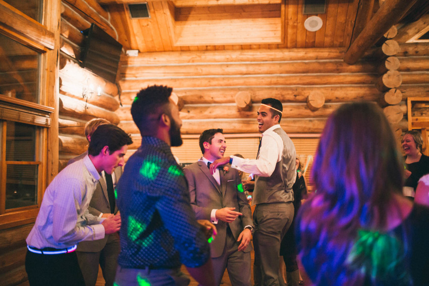 067 Evergreen Lake House Wedding Photographer dance party reception