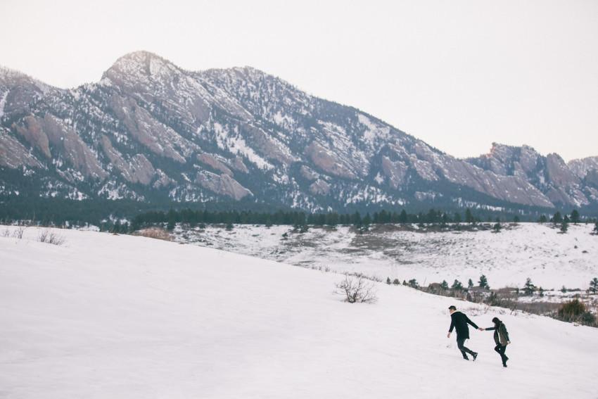 Dana Jhun Engagement Continental Divide Adventure Snow Winter-002