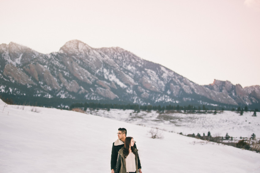 Dana Jhun Engagement Continental Divide Adventure Snow Winter-004