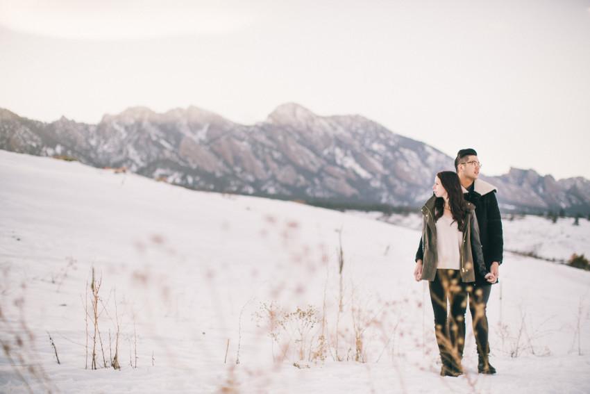 Dana Jhun Engagement Continental Divide Adventure Snow Winter-007
