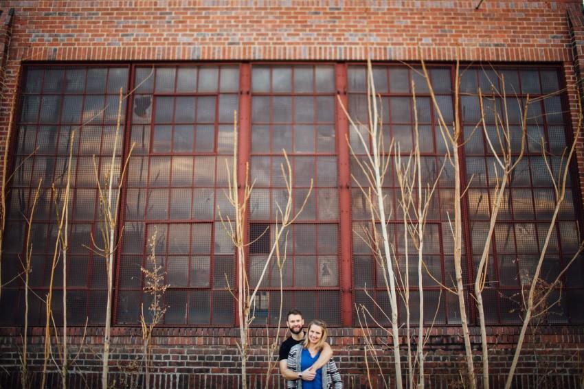 Danielle Tyler Anniversary Rino Art District Denver Urban Hipster Couples Session-002