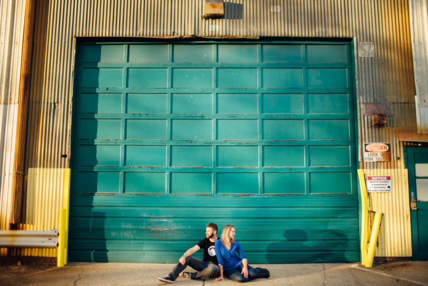Danielle Tyler Anniversary Rino Art District Denver Urban Hipster Couples Session-003
