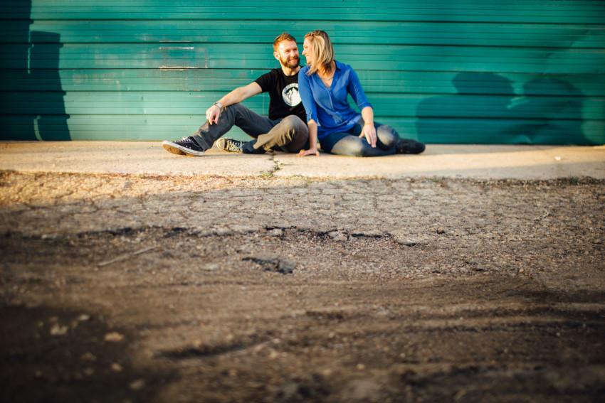 Danielle Tyler Anniversary Rino Art District Denver Urban Hipster Couples Session-005