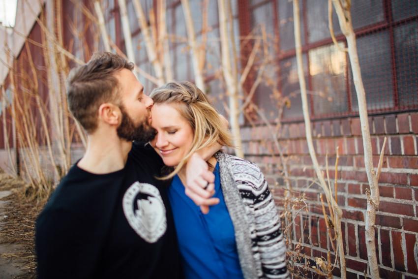 Danielle Tyler Anniversary Rino Art District Denver Urban Hipster Couples Session-007