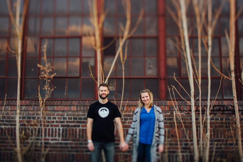 Danielle Tyler Anniversary Rino Art District Denver Urban Hipster Couples Session-009