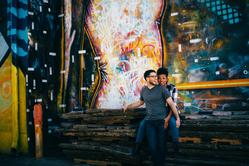 Gigi Greg RiNO Engagement Denver Interacial Couple Sexy Cool Hipster-007