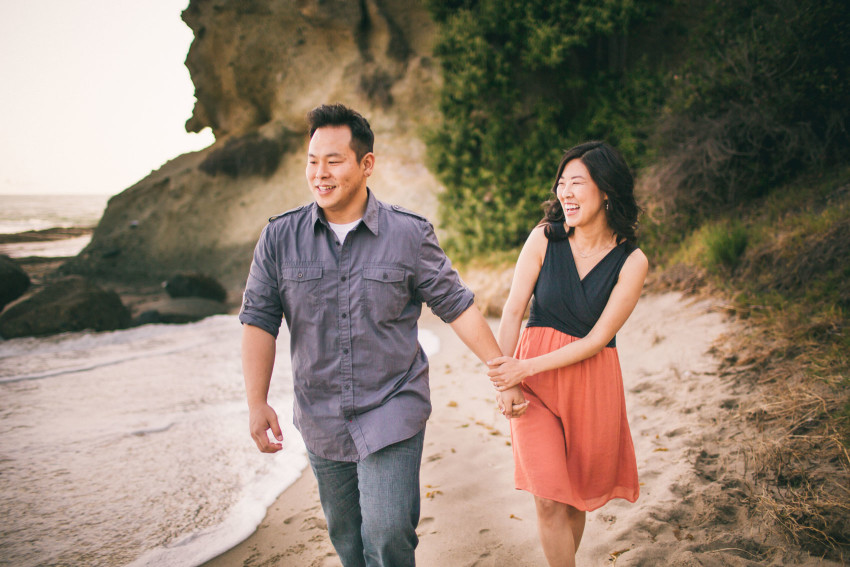 Grace Larry Epic Laguna Beach Engagement Adventure-003
