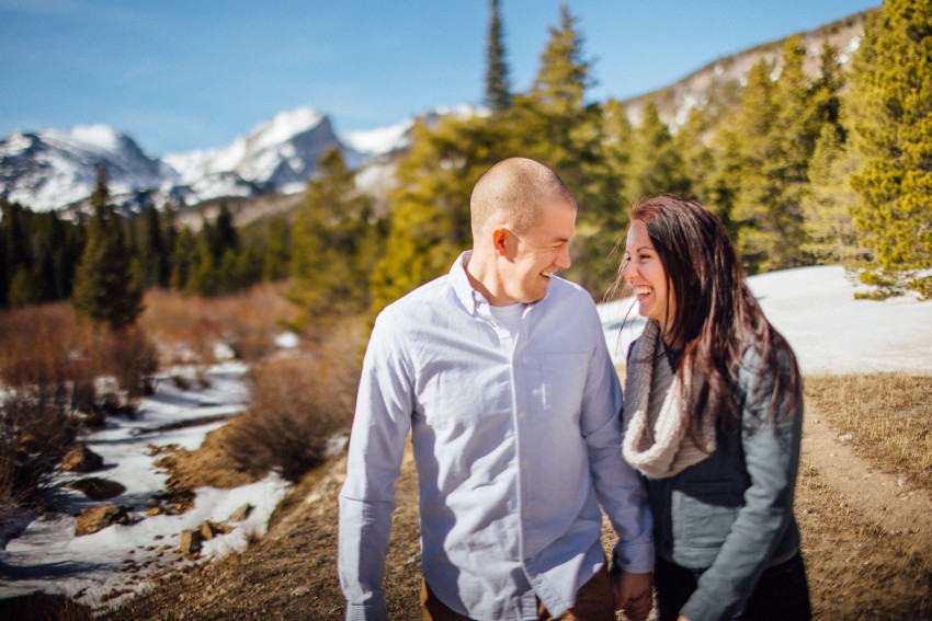 Kayla Jeremy Engagement Adventure RMNP Rocky Mountain National Park Estes Park Outdoor-001