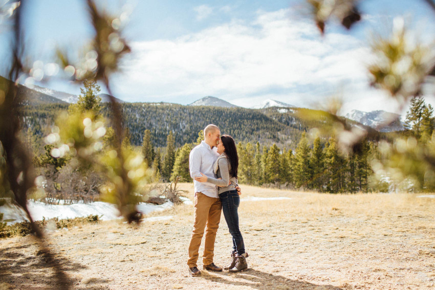 Kayla Jeremy Engagement Adventure RMNP Rocky Mountain National Park Estes Park Outdoor-005
