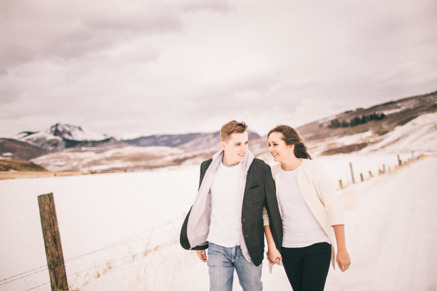 Kolby Dillon Crested Butte Outdoor Mountain Engagement Adventure Winter-001