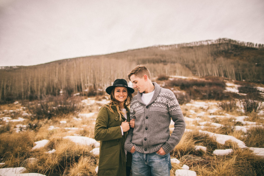 Kolby Dillon Crested Butte Outdoor Mountain Engagement Adventure Winter-004