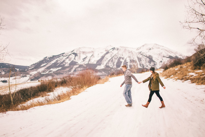 Kolby Dillon Crested Butte Outdoor Mountain Engagement Adventure Winter-005