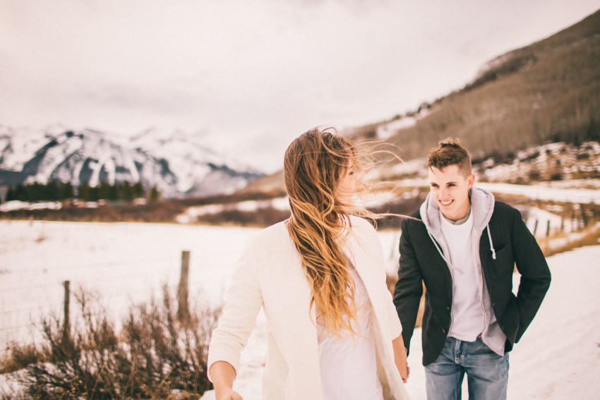 Kolby Dillon Crested Butte Outdoor Mountain Engagement Adventure Winter-006