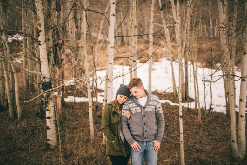 Kolby Dillon Crested Butte Outdoor Mountain Engagement Adventure Winter-007