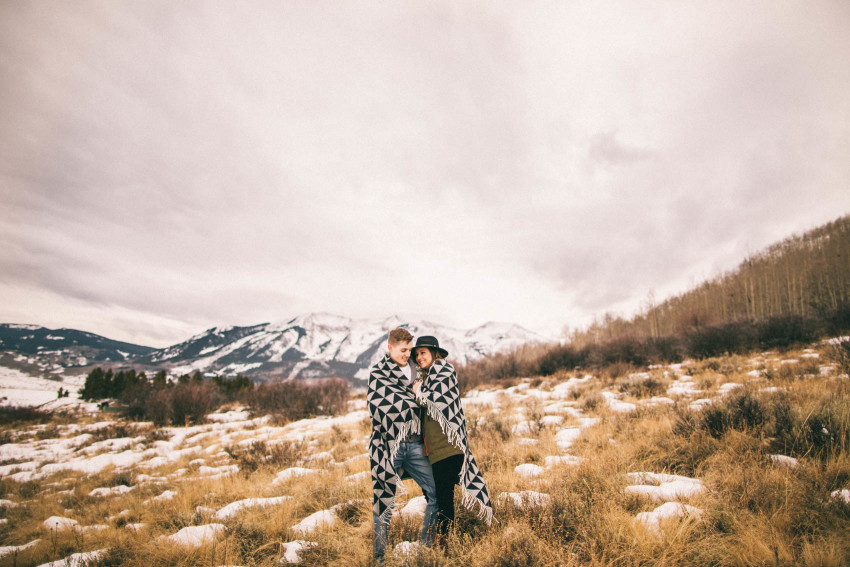 Kolby Dillon Crested Butte Outdoor Mountain Engagement Adventure Winter-009