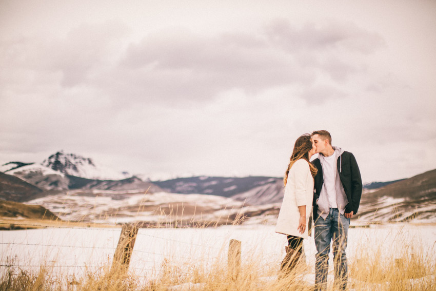 Kolby Dillon Crested Butte Outdoor Mountain Engagement Adventure Winter-010