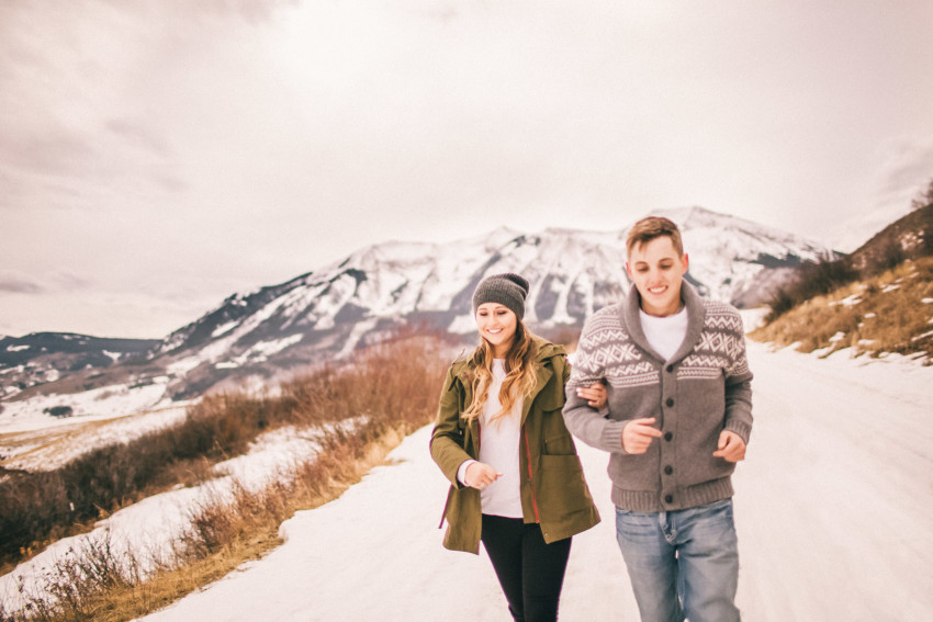 Kolby Dillon Crested Butte Outdoor Mountain Engagement Adventure Winter-011