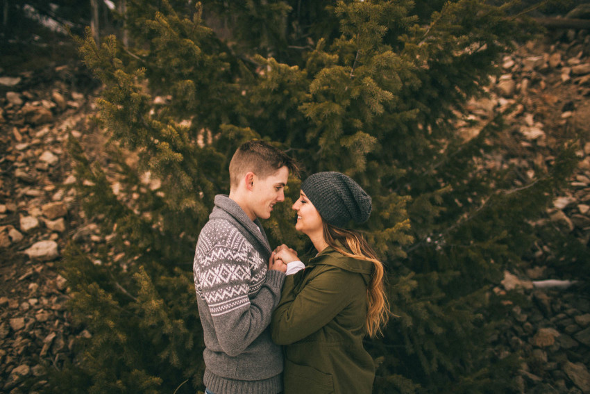 Kolby Dillon Crested Butte Outdoor Mountain Engagement Adventure Winter-012