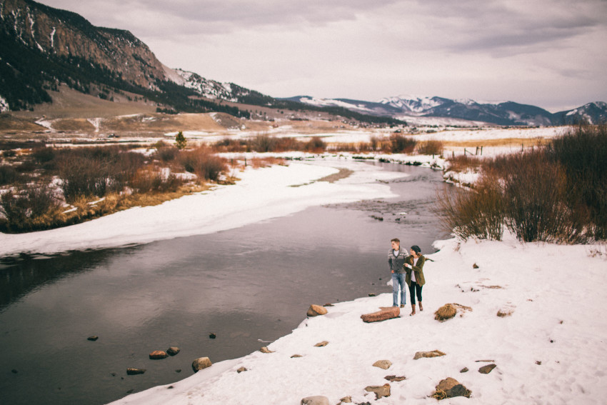 Kolby Dillon Crested Butte Outdoor Mountain Engagement Adventure Winter-013