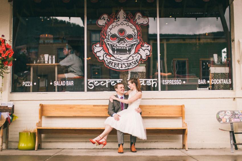 005 Crested Butte CO Townie Outdoor Camp 4 Third Bowl Secret Stash Organic Fun Engagement Lauren Matt