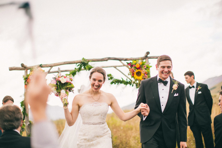 053 Crested Butte CO Private Ranch Wedding Local Foodie Stormy Rain Unique Initimate Burning of Sage Ceremony Barn Live Band Marquee Lights Stars Night Sky