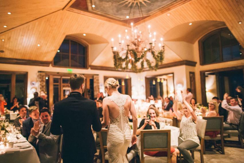 057 Aspen CO Mountain Wedding Reception Little Nell Luxury Classy