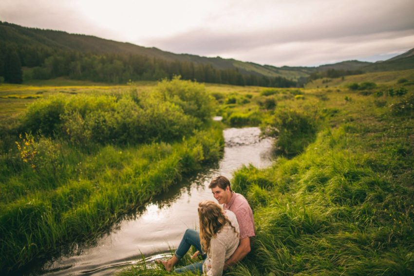 004 Crested Butte Wildflower Adventure Engagement Shoot Washington Gulch Jenna Drew