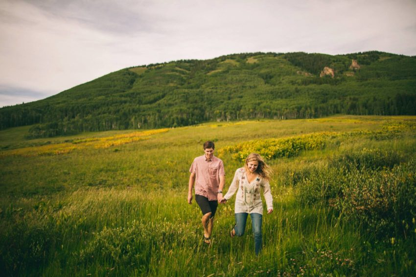 005 Crested Butte Wildflower Adventure Engagement Shoot Washington Gulch Jenna Drew