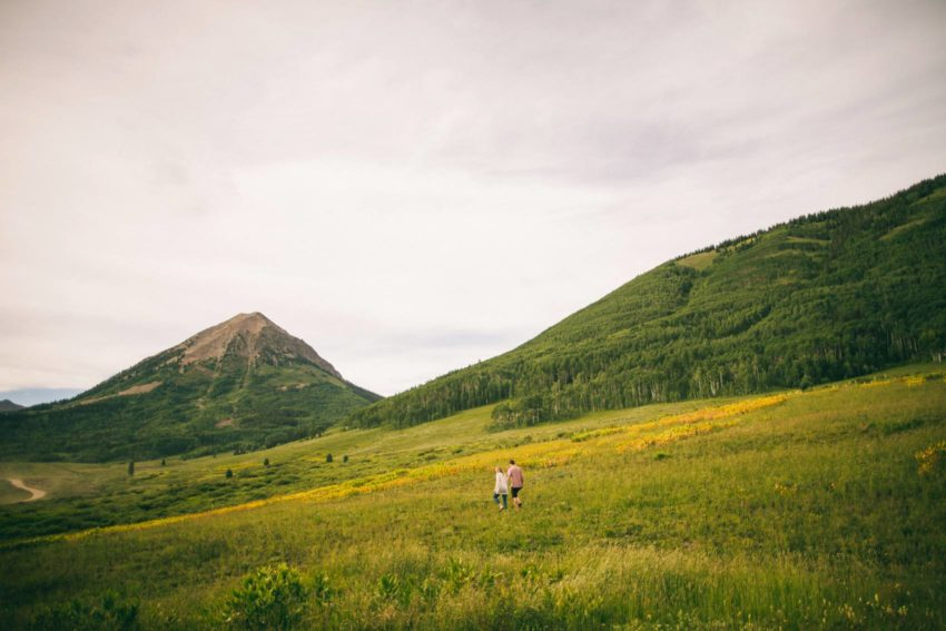 009 Crested Butte Wildflower Adventure Engagement Shoot Washington Gulch Jenna Drew