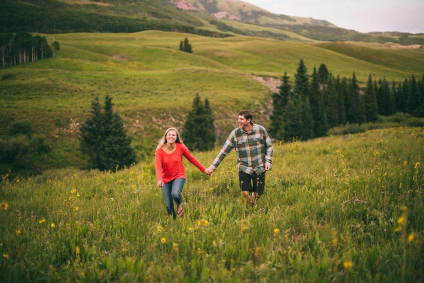 011 Crested Butte Wildflower Adventure Engagement Shoot Washington Gulch Jenna Drew