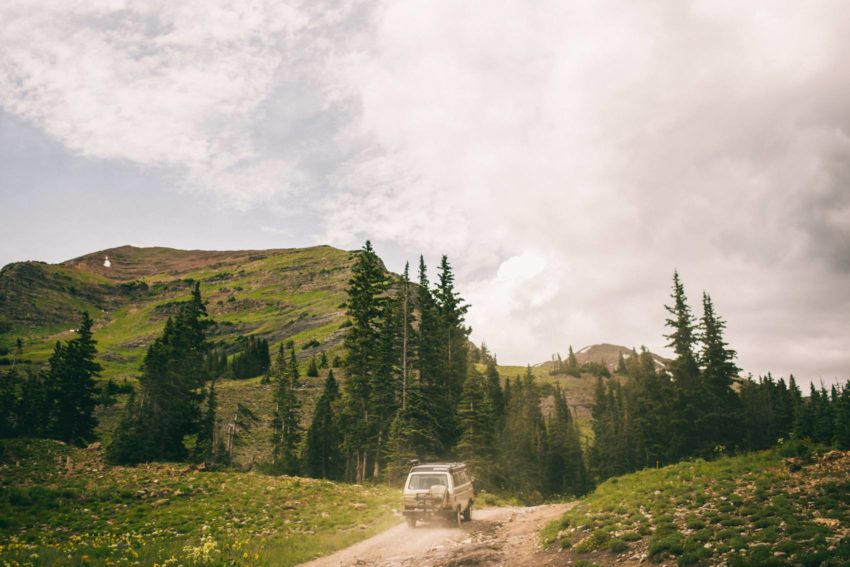 023 Crested Butte Elopement Waterfall Krsitin Phil Westfalia Off Road Adventure