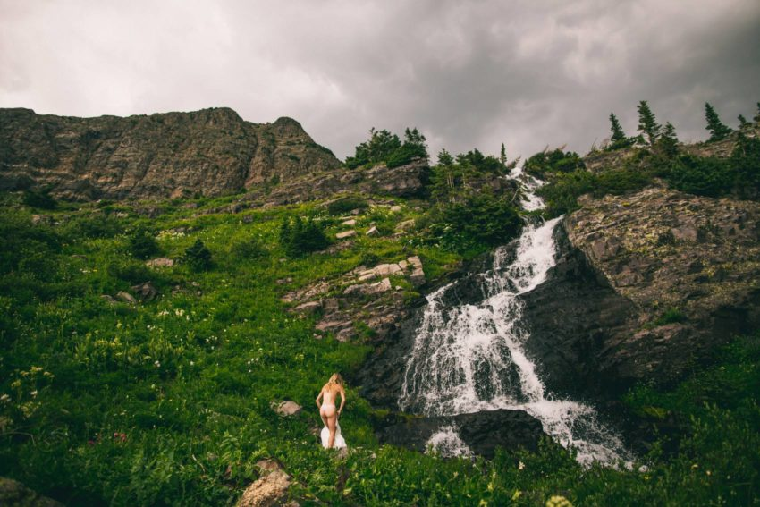 030 Crested Butte Elopement Waterfall Krsitin Phil Westfalia Off Road Adventure