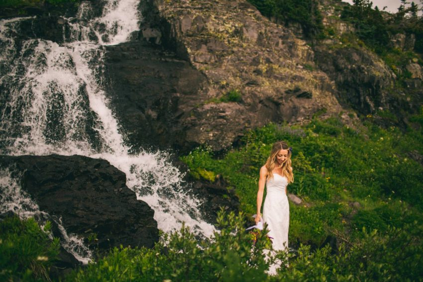 033 Crested Butte Elopement Waterfall Krsitin Phil Westfalia Off Road Adventure