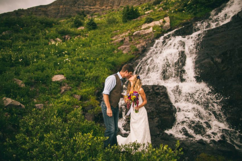036 Crested Butte Elopement Waterfall Krsitin Phil Westfalia Off Road Adventure