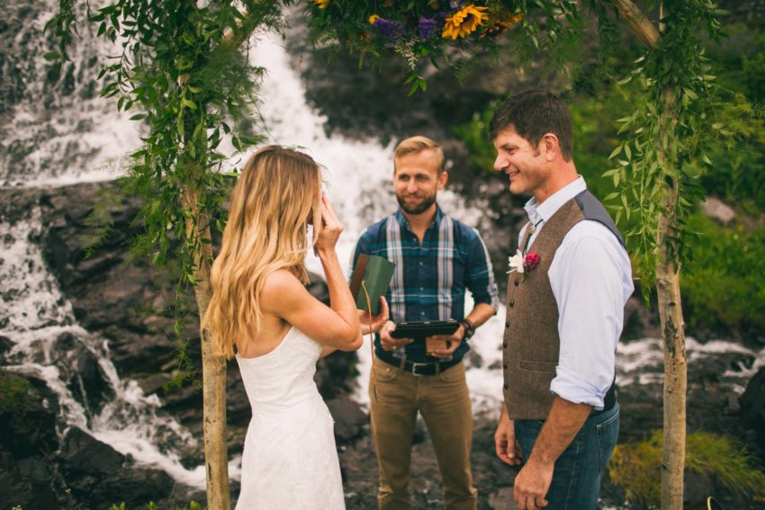 052 Crested Butte Elopement Waterfall Krsitin Phil Westfalia Off Road Adventure
